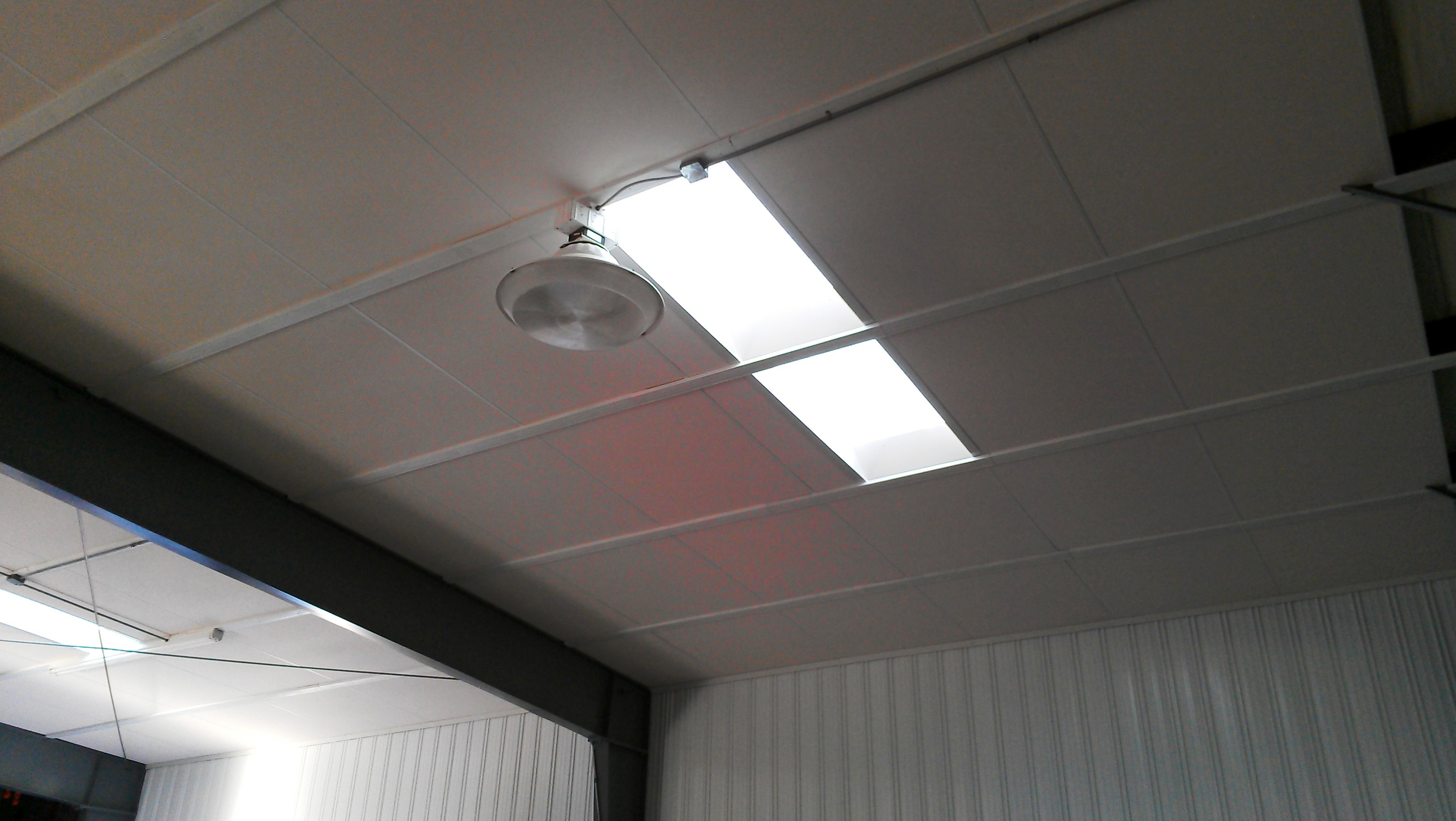 Oversized Ceiling Panels - Cleanable ceiling tiles