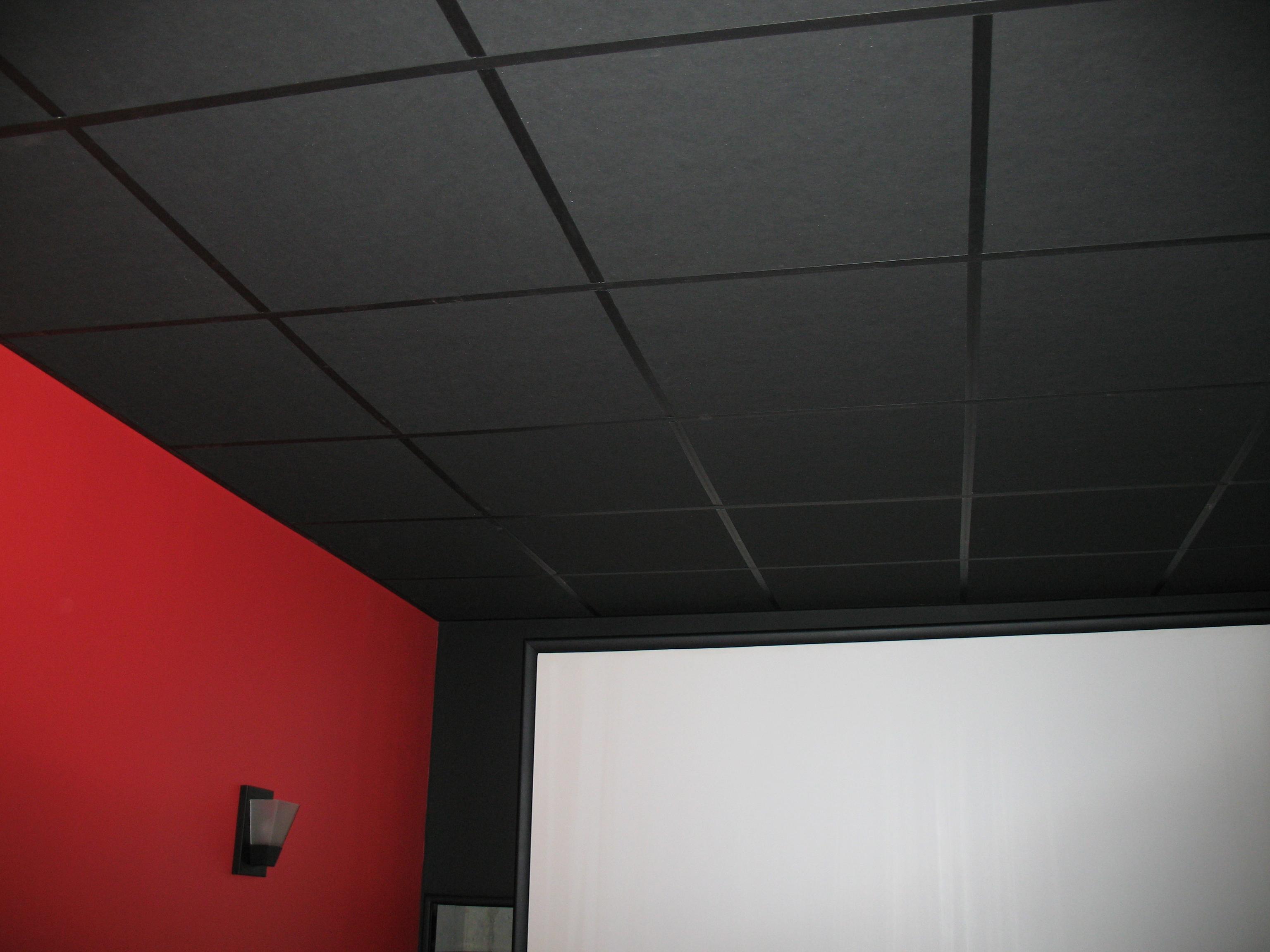Black Cinetile Matte Facing